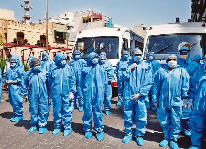 Maharashtra: 8,998 new Covid-19 cases in a day, 1104 from Mumbai
