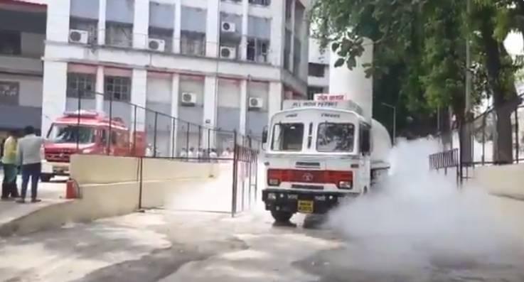 Breaking: 22 Covid Patients Dead After Oxygen Tanker Leak in Maharashtra