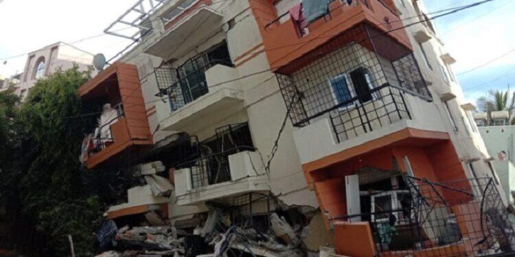 Five-storey building collapses in Bengaluru