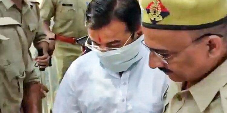 Union Minister Ajay Mishra's son arrest